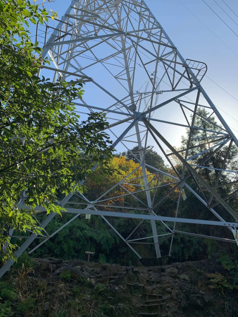 便石山の鉄塔