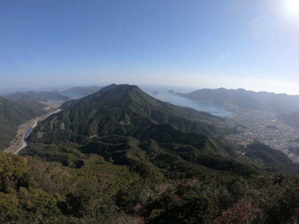 便石山像の背からの風景 2