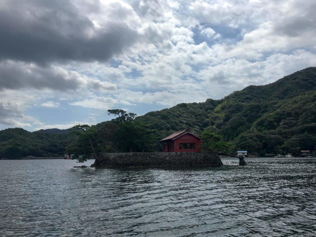 阿曽浦の海