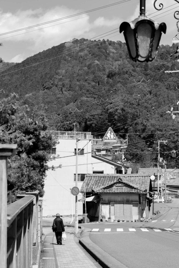 熊野まち歩き 白黒まち