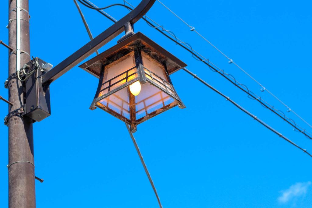 熊野まち歩き 街灯