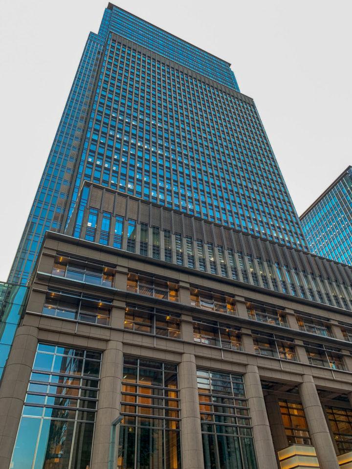 三重テラス周辺「マンダリンオリエンタルホテル」