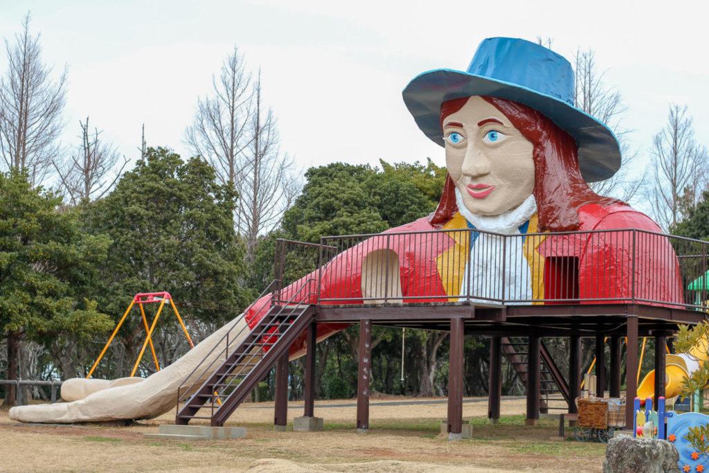 鳥羽市民の森公園「ガリバー滑り台」2