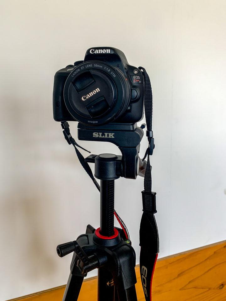 一眼レフカメラ「Canon kiss x7」