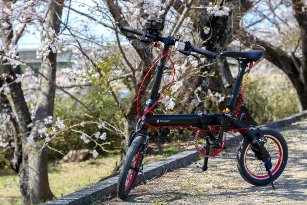 自転車とGoPro