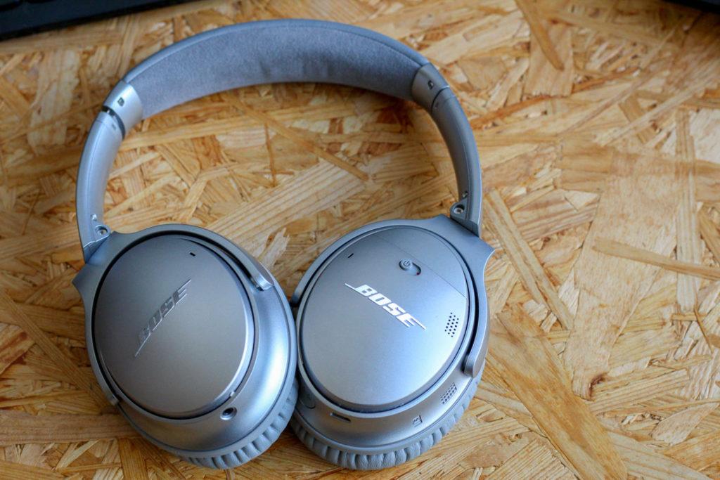 「Bose QuietComfort 35 wireless headphones」