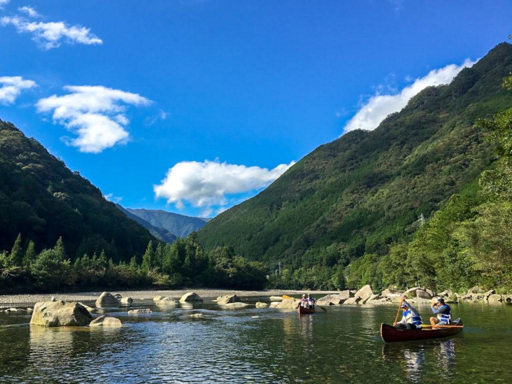 「紀北町魅力・ときめき一次産業体験ツアー」キャンプinn海山