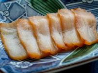 三重県鳥羽市 海童工房 魚寅 タイラギの燻製2