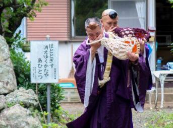慈眼山 金胎寺 夏越の祓い・茅の輪くぐり3
