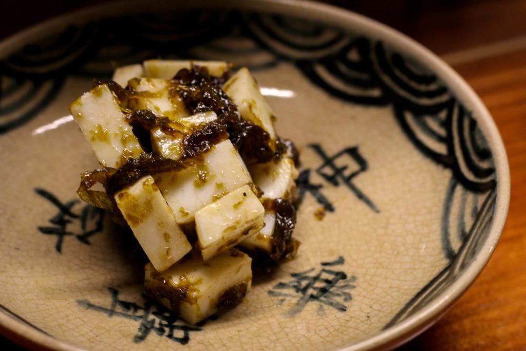 日本酒バー 麻吉 あおさのりチーズ