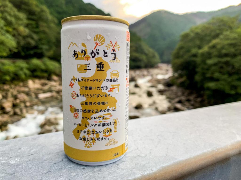 ダイドーブレンド 三重まろやか カフェオレと銚子川2