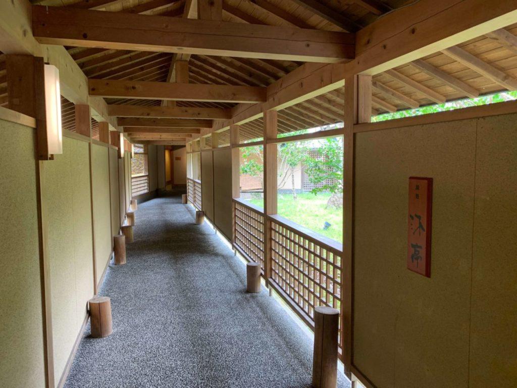 三重県紀北町 季の座温泉 廊下