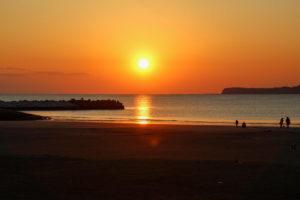 千葉県銚子市 屏風ヶ浦遊歩道 サンセットビーチ1