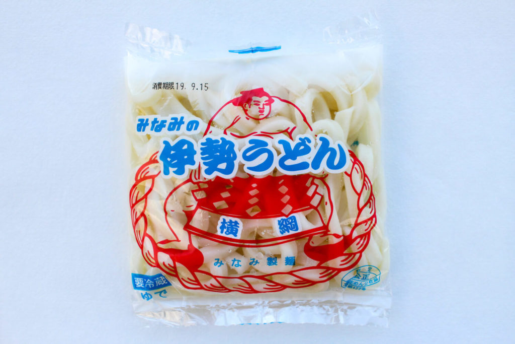 横綱印 みなみ製麺の伊勢うどん 袋