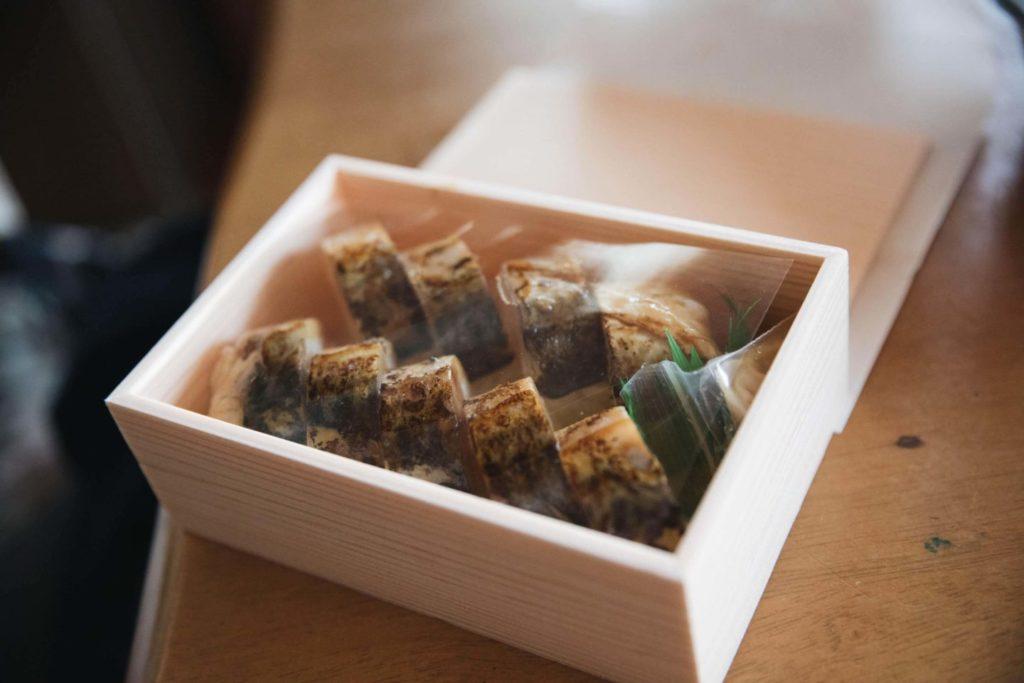 クボクリキッチン花清水 鯖寿司