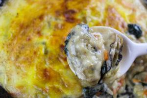 牡蠣レシピ 牡蠣グラタン2