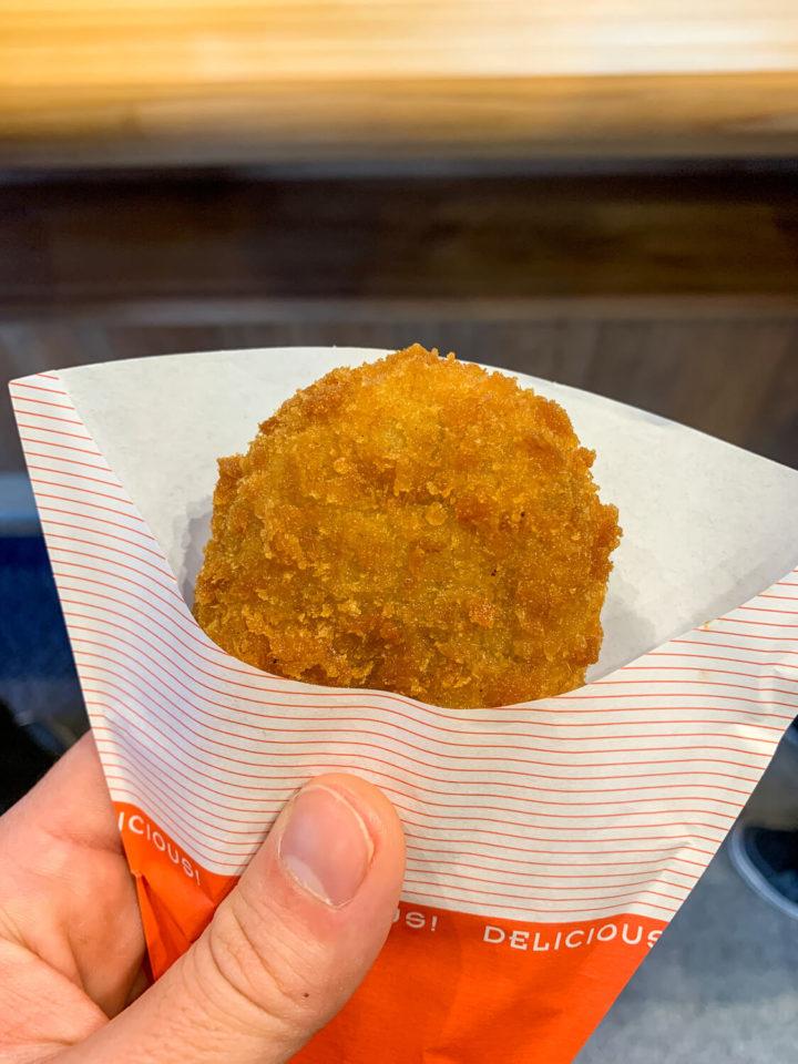 浜与本店 内宮前店 牡蠣クリームコロッケ