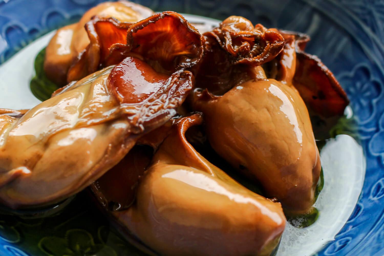 三重県鳥羽市のお土産 牡蠣のオリーブオイル漬け 発酵と燻製専門 海童工房 魚寅 中身2