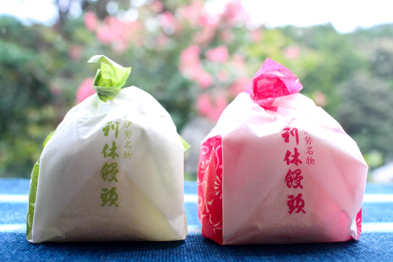 三重県伊勢市のお土産 利休饅頭 パッケージ