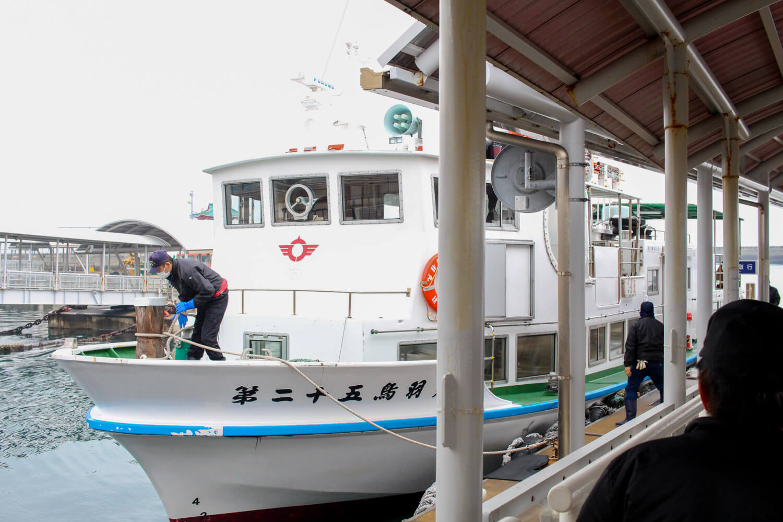 鳥羽離島定期船8