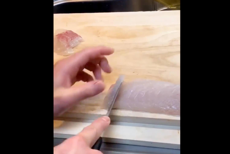 「鯛の手毬寿司づくり インスタLIVE」A14