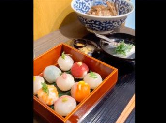 「鯛の手毬寿司づくり インスタLIVE」A18