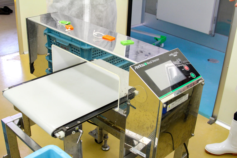 アカモク加工場 衛生面5