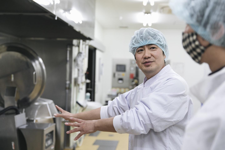 喫茶店さん撮影 アカモク加工場2