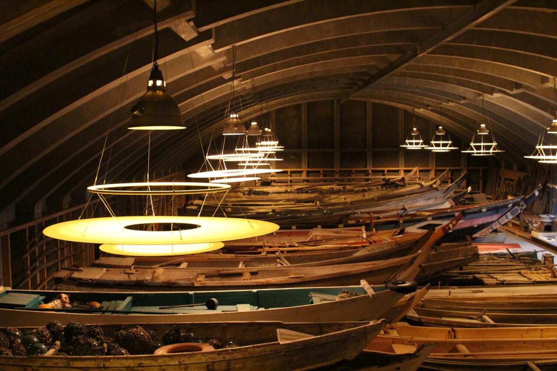鳥羽市立 海の博物館 TOBA SEA-FOLK MUSEUM 船保管倉庫